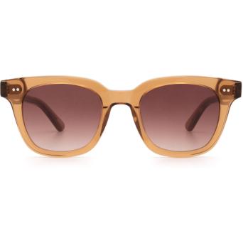 Chimi® Square Sunglasses: #101 color Brown Cinnamon Brown.