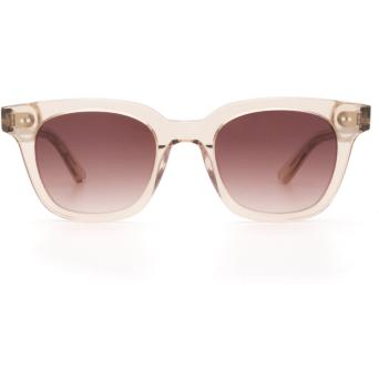 Chimi® Square Sunglasses: #101 color Light Beige Ecru.