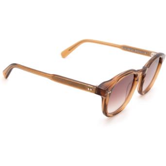 Chimi® Square Sunglasses: #102 color Brown Cinnamon Brown.