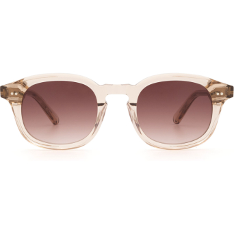 Chimi® Square Sunglasses: #102 color Light Beige Ecru.
