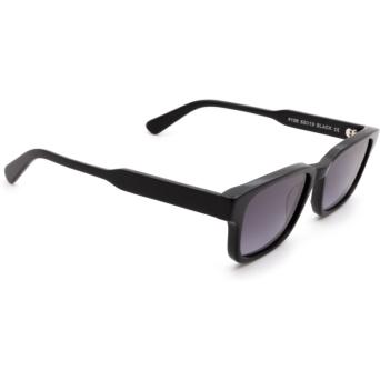 Chimi® Rectangle Sunglasses: #106 color Black.