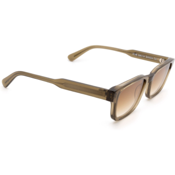 Chimi® Rectangle Sunglasses: #106 color Olive Green Green.