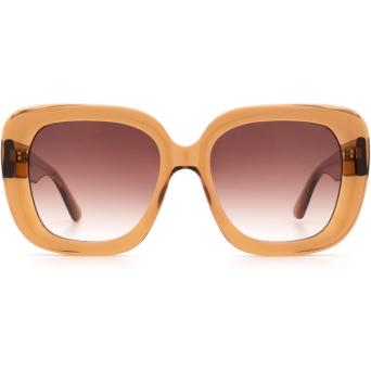 Chimi® Square Sunglasses: #108 color Brown.