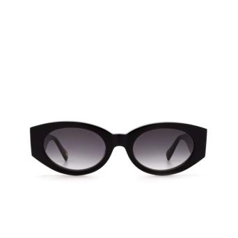 Chimi® Oval Sunglasses: Craftmanship Round color Black.