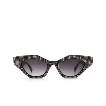 Chimi® Cat-eye Sunglasses: Star Cluster color Black Shine.