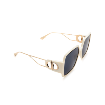 Dior® Square Sunglasses: 30MONTAIGNE2 color Ivory Gold IJS/A9.