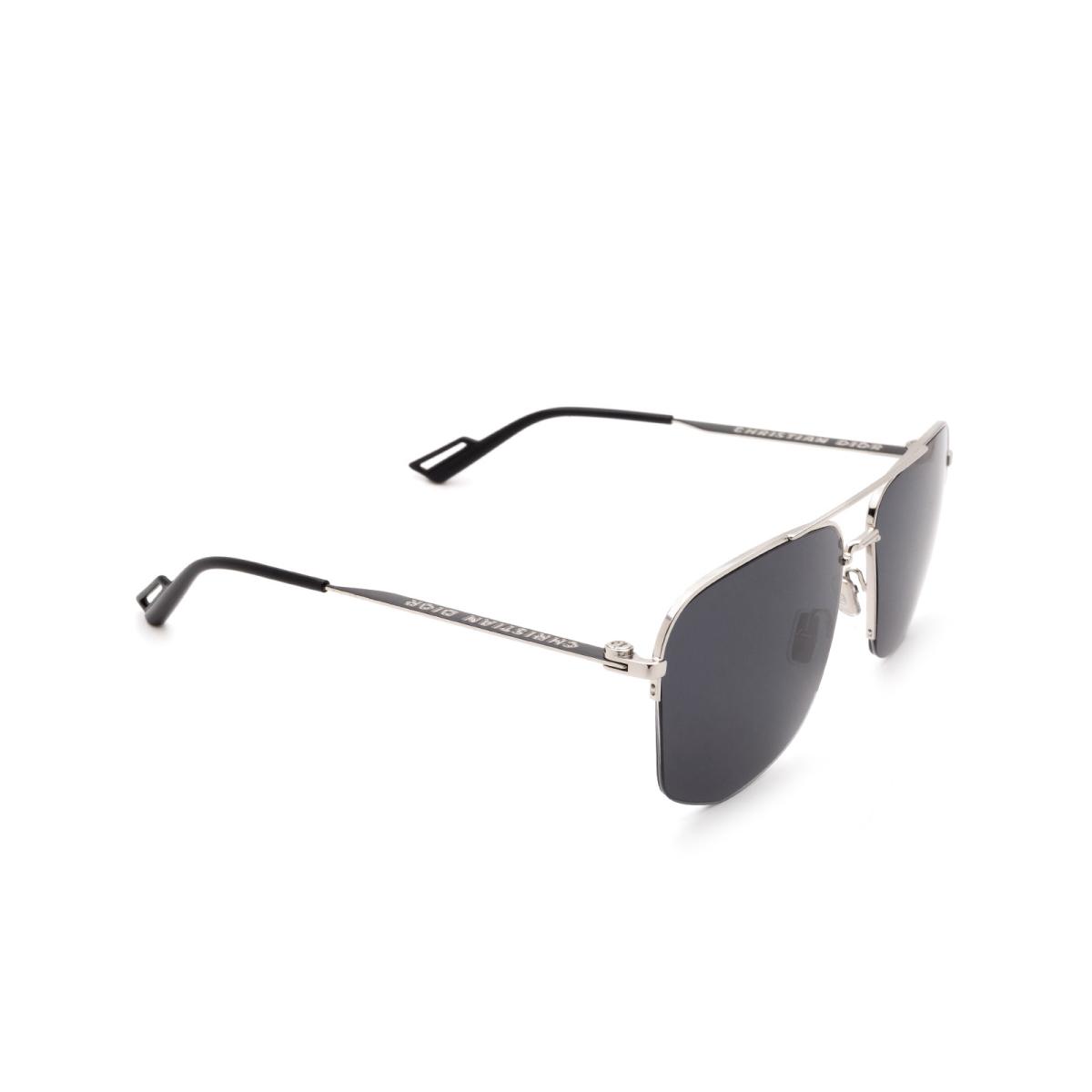 Dior® Aviator Sunglasses: DIOR180 color Palladium 84J/IR.