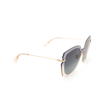 Dior® Square Sunglasses: DIORATTITUDE1 color Grey Beige YQL/1I.