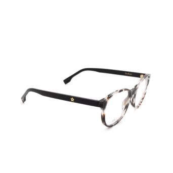 Dior® Butterfly Eyeglasses: DIORETOILE1 color Grey Havana Aci.