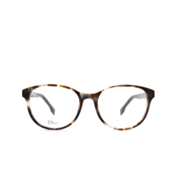 Dior® Eyeglasses: DIORETOILE1 color Grey Havana Aci.