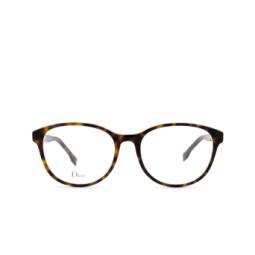 Dior® Eyeglasses: DIORETOILE1 color Dark Havana Ivory C1H.