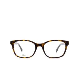 Dior® Eyeglasses: DIORETOILE2 color Dark Havana C1H.