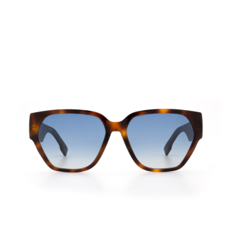 Dior® Irregular Sunglasses: DIORID1 color Dark Havana 086/84.