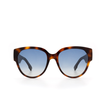 Dior® Butterfly Sunglasses: DIORID2 color Dark Havana 086/84.