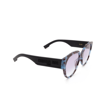 Dior® Butterfly Sunglasses: DIORID2 color Blue Havana Jbw/so.