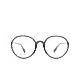 Dior® Round Eyeglasses: DIORSOSTELLAIREO2 color Grey KB7.