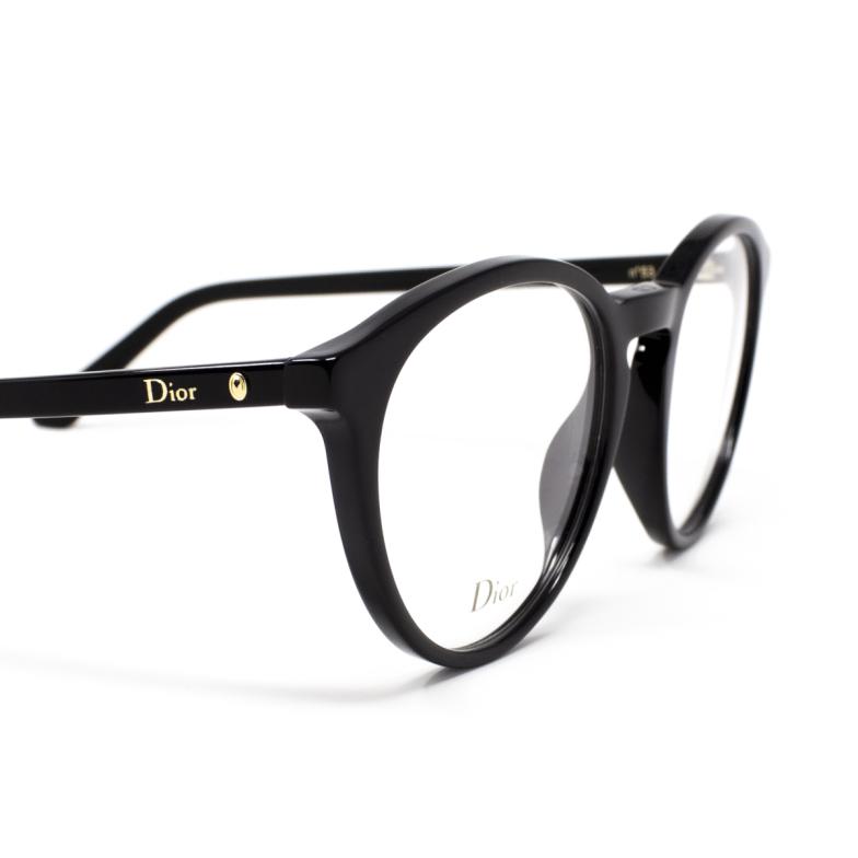 Dior® Round Eyeglasses: MONTAIGNE53 color Black 807.