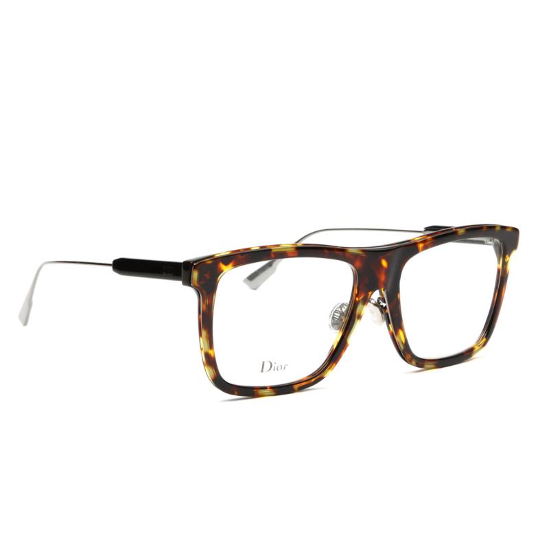 Dior® Square Eyeglasses: MYDIORO1 color Havana Epz.