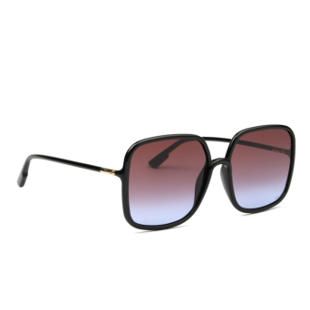 Dior® Square Sunglasses: SOSTELLAIRE1 color Black 807/YB.