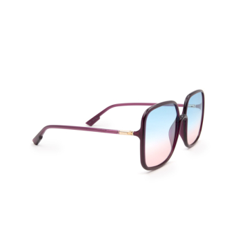 Dior® Square Sunglasses: SOSTELLAIRE1 color Violet B3V/AJ.