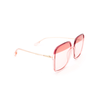 Dior® Square Sunglasses: SOSTELLAIRE1 color Bordeaux OT5TX.