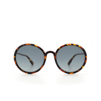 Dior® Round Sunglasses: SOSTELLAIRE2 color Yellow Havana EPZ/1I.