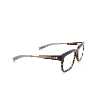 Dita® Square Eyeglasses: DLX702 color Trt-gld.