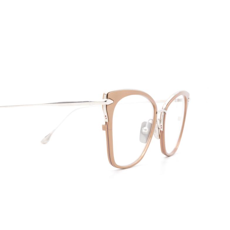 Dita® Butterfly Eyeglasses: DRX3041 color B-rgd-slv.
