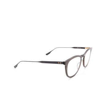 Dita® Square Eyeglasses: DTX105 color Blk-blk.