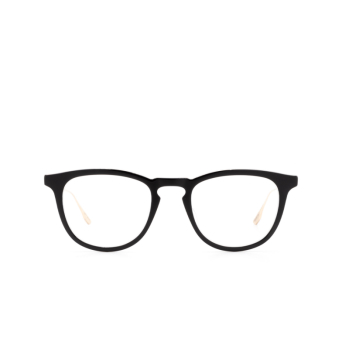 Dita® Square Eyeglasses: DTX105 color Blk-gld.