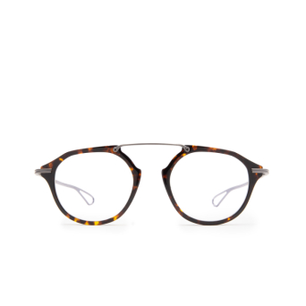 Dita® Aviator Eyeglasses: DTX119 color Trt-gun.