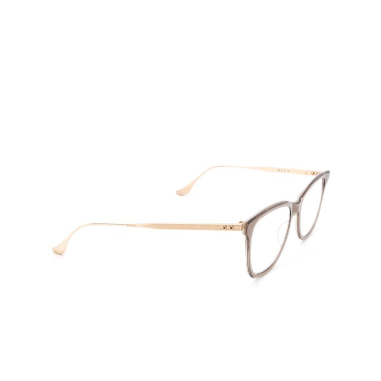 Dita® Cat-eye Eyeglasses: DTX505 color Gry-gld.