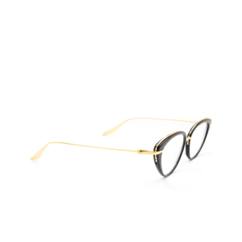 Dita® Cat-eye Eyeglasses: DTX517 color Blk-gld.