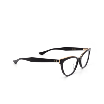 Dita® Cat-eye Eyeglasses: DTX528 color Blk-grd.