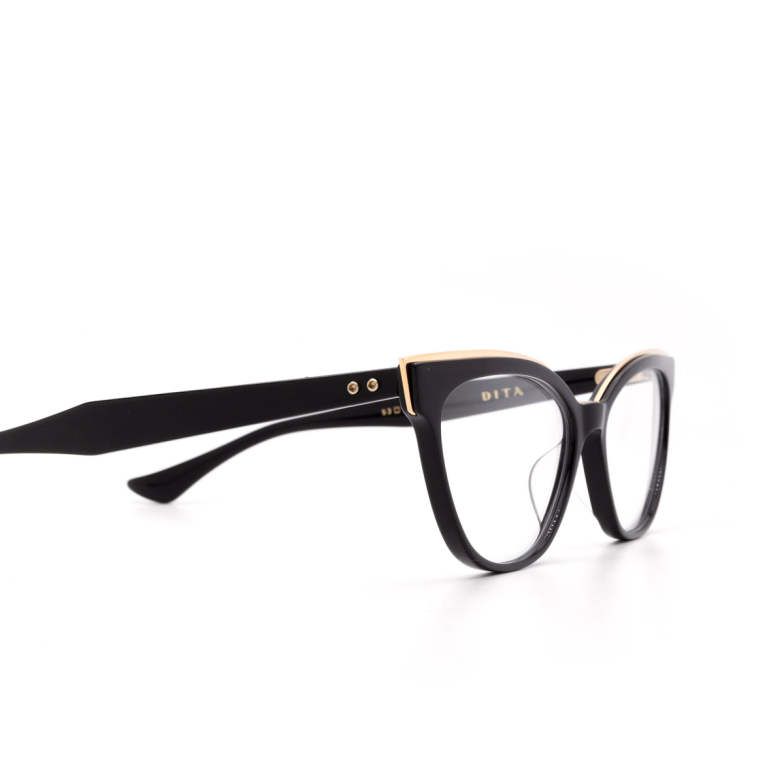 Dita® Cat-eye Eyeglasses: DTX528 color Blk-grd.
