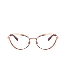 Dolce & Gabbana® Eyeglasses: DG1326 color Pink Gold / Bordeaux 1333.