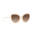 Dolce & Gabbana® Butterfly Sunglasses: DG2226 color Gold 02/13 - product thumbnail 2/3.