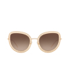 Dolce & Gabbana® Butterfly Sunglasses: DG2226 color Gold 02/13 - product thumbnail 1/3.