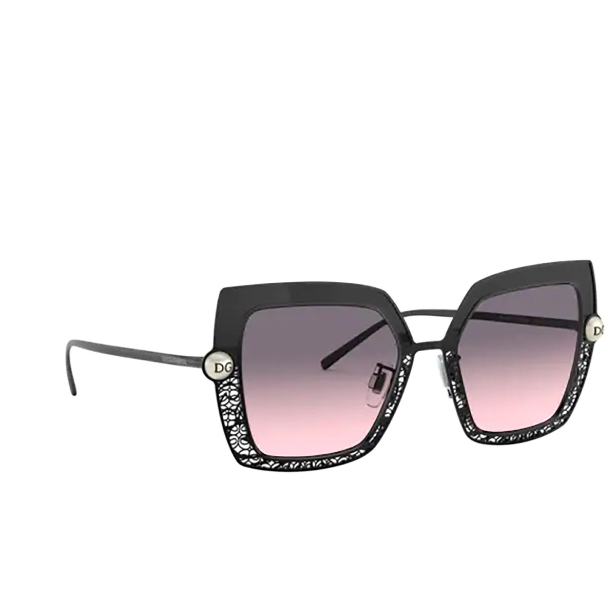 Dolce & Gabbana® Square Sunglasses: DG2251H color Grey 13405M.