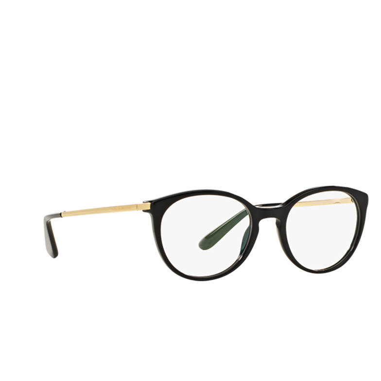 Dolce & Gabbana® Round Eyeglasses: DG3242 color Black 501.
