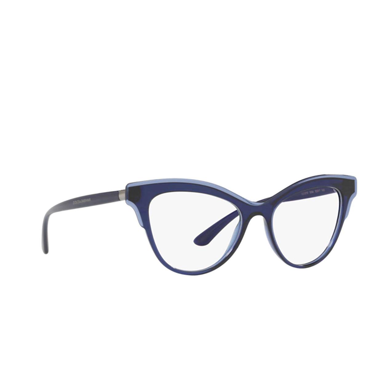 Dolce & Gabbana® Butterfly Eyeglasses: DG3313 color Opal Blue 3094.