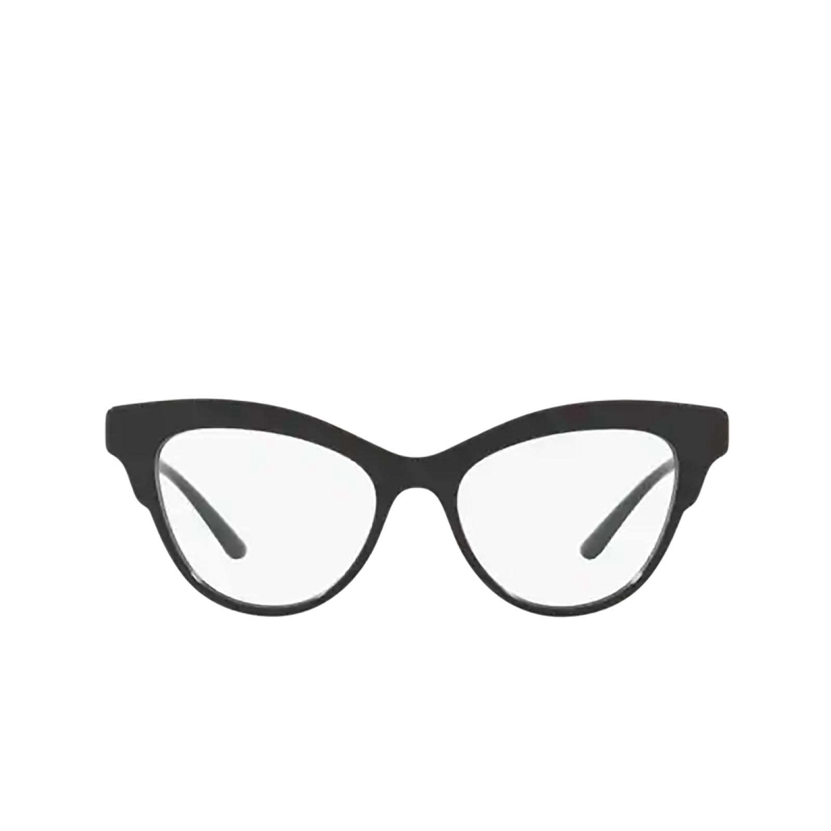 Dolce & Gabbana® Butterfly Eyeglasses: DG3313 color Black 501 - front view.