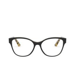 Dolce & Gabbana® Eyeglasses: DG3322 color Black On Leo Glitter Gold 3235.