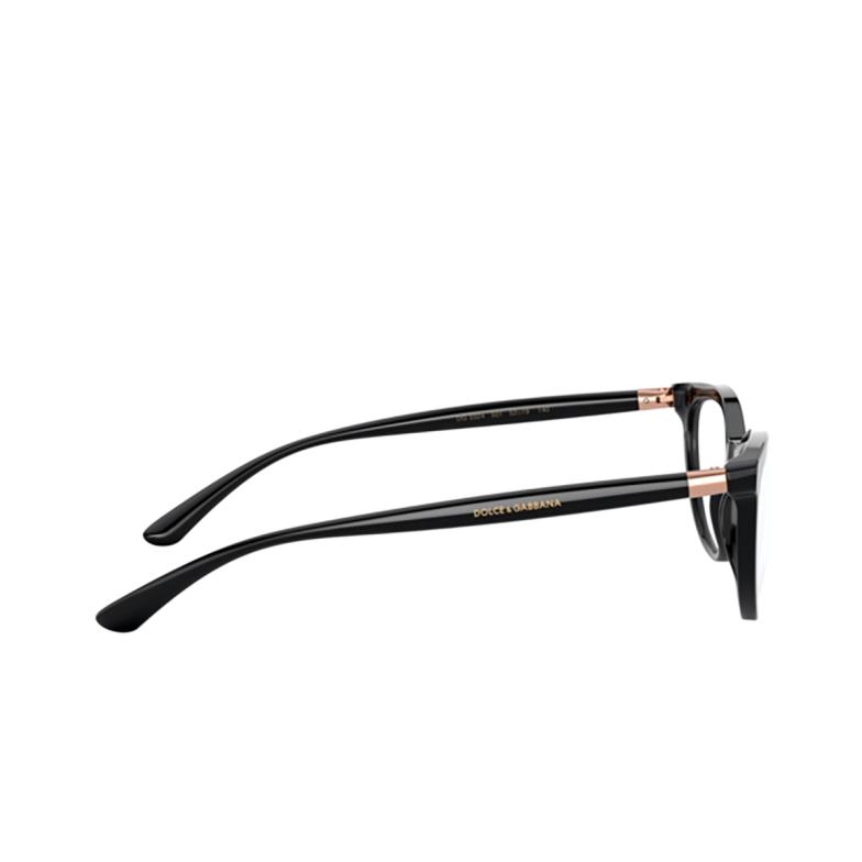 Dolce & Gabbana® Butterfly Eyeglasses: DG3324 color Black 501.