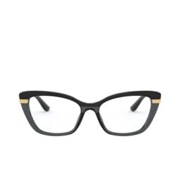 Dolce & Gabbana® Eyeglasses: DG3325 color Black On Transparent Black 3246.