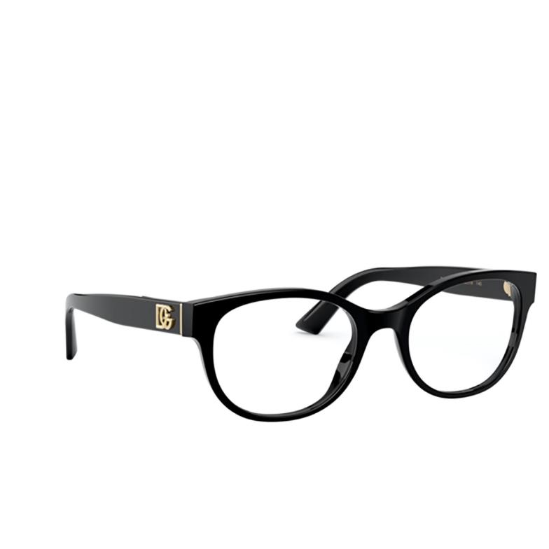 Dolce & Gabbana® Oval Eyeglasses: DG3327 color Black 501.