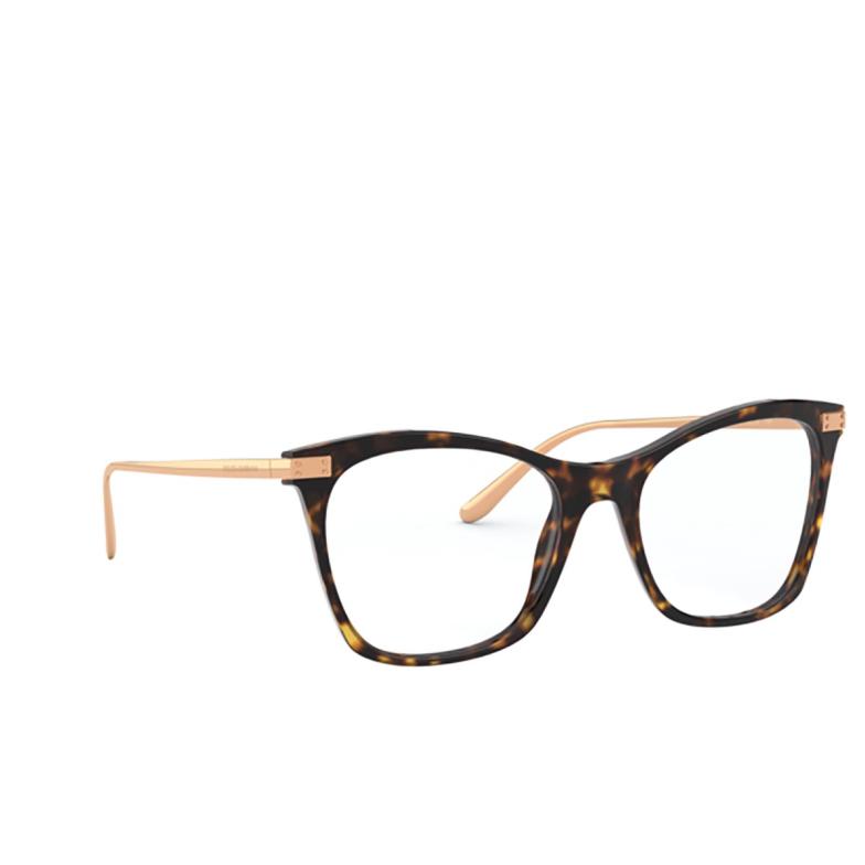 Dolce & Gabbana® Square Eyeglasses: DG3331 color Havana 502.