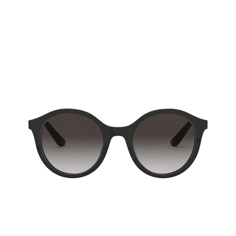 Dolce & Gabbana® Round Sunglasses: DG4358 color Black 501/8G.