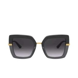 Dolce & Gabbana® Sunglasses: DG4373 color Black On Transparent Black 32468G.