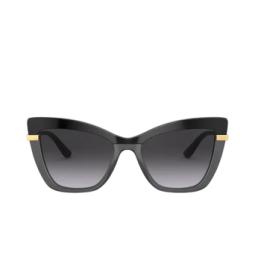 Dolce & Gabbana® Sunglasses: DG4374 color Black On Transparent Black 32468G.